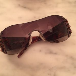 Early 2000's Never Been Worn Ed Hardy Sunglasses